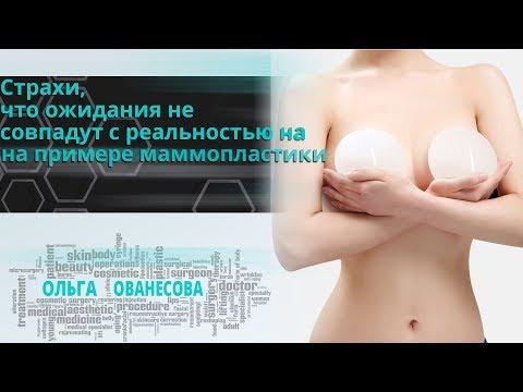 Страхи, что ожидания не совпадут с реальностью на примере маммопластики✦Ованесова Ольга